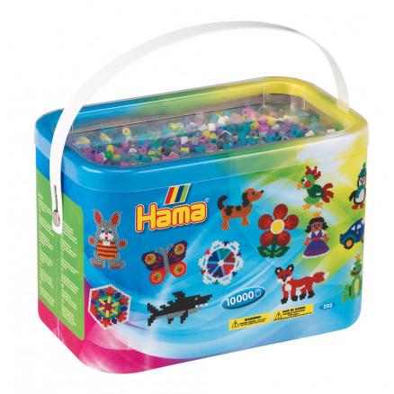 Hama Midi Perler 202-69 Mix 69 - 10.000 stk thumbnail