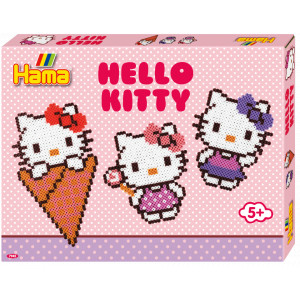 Image of   Hama Midi Gaveæske 7942 Hello Kitty