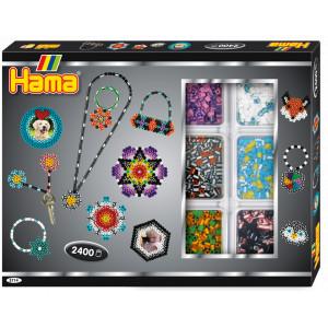 Image of   Hama Midi Aktivitetsæske 3714 Stribede perler