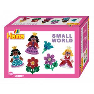 Hama Midi Gaveæske 3505 Small World Prinsesser og Blomster
