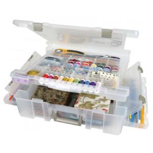 ArtBin Super Satchel Deluxe Plastboks til tilbehør Transparent 43,8x42,5x12,7cm
