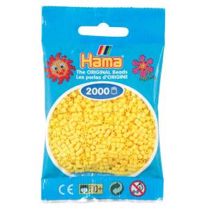 Image of   Hama Mini Perler 501-03 Gul - 2000 stk
