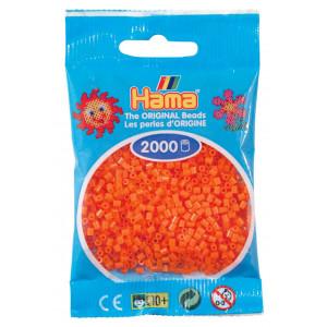 Image of   Hama Mini Perler 501-04 Orange - 2000 stk