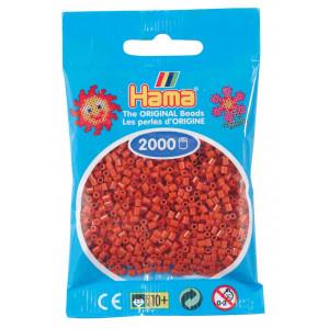 Image of   Hama Mini Perler 501-20 Rødbrun - 2000 stk