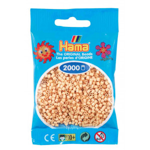 Image of   Hama Mini Perler 501-27 Beige - 2000 stk
