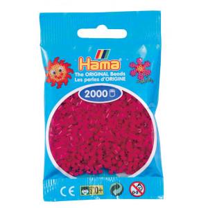 Image of   Hama Mini Perler 501-29 Vinrød - 2000 stk