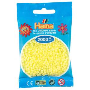 Image of   Hama Mini Perler 501-43 Pastel Gul - 2000 stk