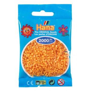 Image of   Hama Mini Perler 501-60 Bamsegul - 2000 stk