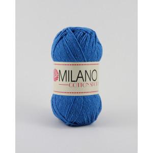 Milano Cotton Sport Garn Unicolor 13 Blå