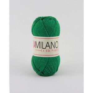 Milano Cotton Sport Garn Unicolor 15 Grøn