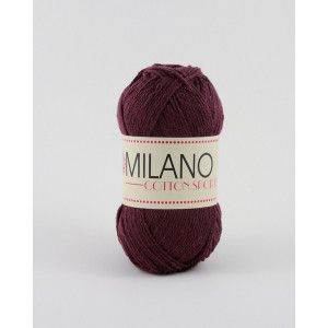 Milano Cotton Sport Garn Unicolor 23 Bordeaux