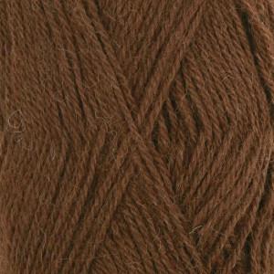 Drops Alpaca Garn Unicolor 403 Mellembrun