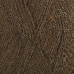 Drops alpaca garn unicolor 601 mørkebrun fra Garnstudio - drops fra rito.dk