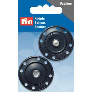 Prym Tryklåse Mørkeblå 35mm - 1 stk