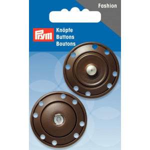 Prym Tryklåse Brun 35mm - 1 stk