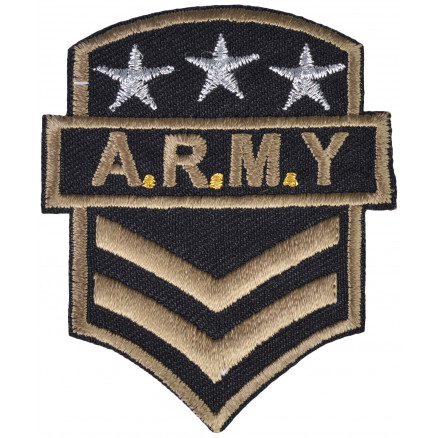 Image of   Strygemærke Army A.R.M.Y 7x6cm - 1 stk
