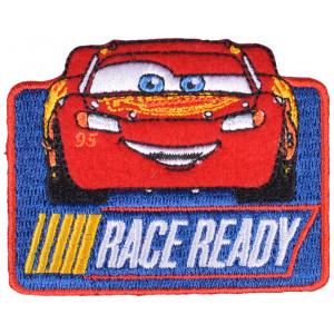Disney Biler Strygemærke Lynet McQueen Race Ready 6x7,5 cm - 1 stk