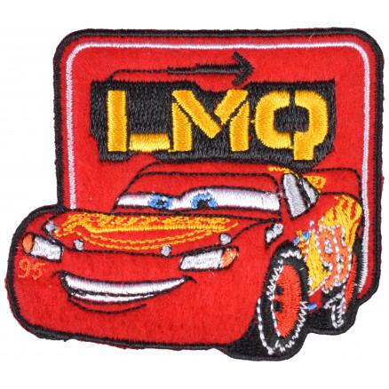 Image of   Disney Biler Strygemærke Lynet McQueen LMQ 6,5x7 cm - 1 stk