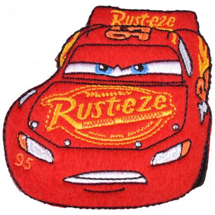 Image of   Disney Biler Strygemærke Lynet McQueen Rust-eze 6,5x7 cm - 1 stk