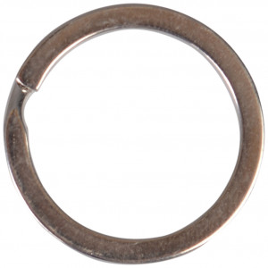 Nøglering Sølvfarvet 25 mm - 1 stk