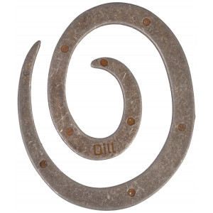 Sjalsnål Spiral Gl. Sølv - 1 stk