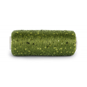 Du Store Alpakka Bling Effektgarn 3007 Grønn