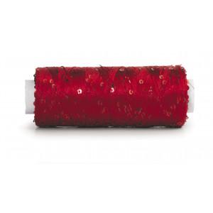 Du Store Alpakka Bling Effektgarn 3011 Rubinrød