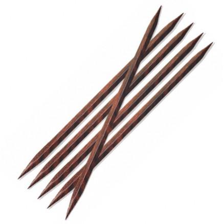 Knitpro Cubics Strømpepinde Træ 20cm 6,00mm Us10