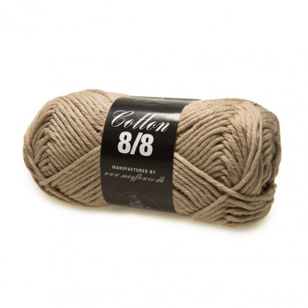 Image of   Mayflower Cotton 8/8 Big Garn Unicolor 1904 Sand
