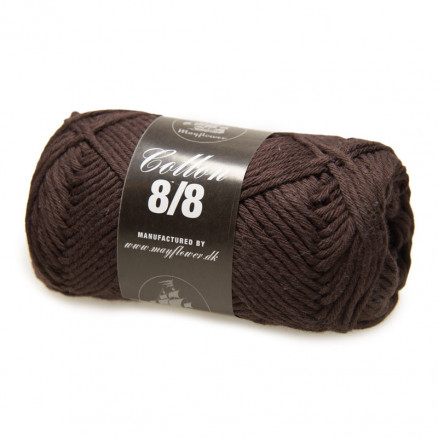 Image of   Mayflower Cotton 8/8 Big Garn Unicolor 1906 Brun