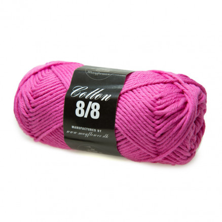 Image of   Mayflower Cotton 8/8 Big Garn Unicolor 1914 Pink