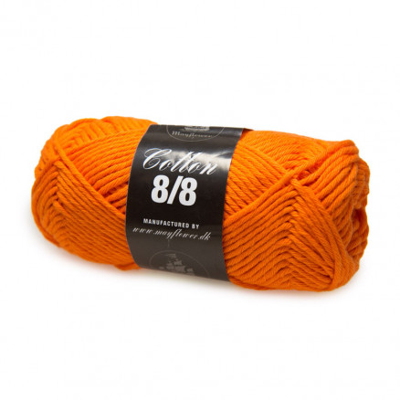 Image of   Mayflower Cotton 8/8 Big Garn Unicolor 1918 Orange