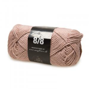 Mayflower Cotton 8/8 Big Garn Unicolor 1927 Lys Gammelrosa