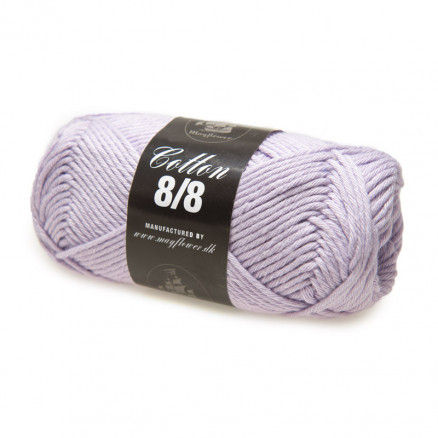 Image of   Mayflower Cotton 8/8 Big Garn Unicolor 1931 Lys Lilla