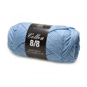 Mayflower Cotton 8/8 Big Garn Unicolor 1940 Støvet Lyseblå