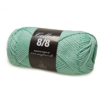 Image of   Mayflower Cotton 8/8 Big Garn Unicolor 1944 Mintgrøn