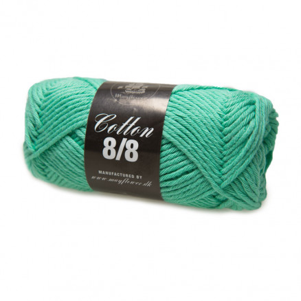 Image of   Mayflower Cotton 8/8 Big Garn Unicolor 1945 Mørk Mintgrøn