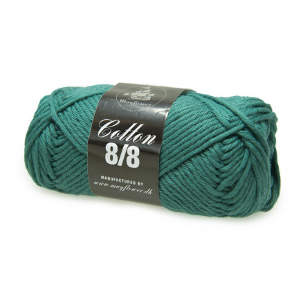 Image of   Mayflower Cotton 8/8 Big Garn Unicolor 1947 Grøn