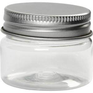 Plastdåse med låg 35ml 3,5x4,5cm - 10 stk