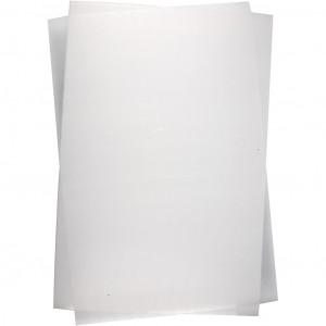 Krympeplast Mat Transparent 20x30cm - 10 ark