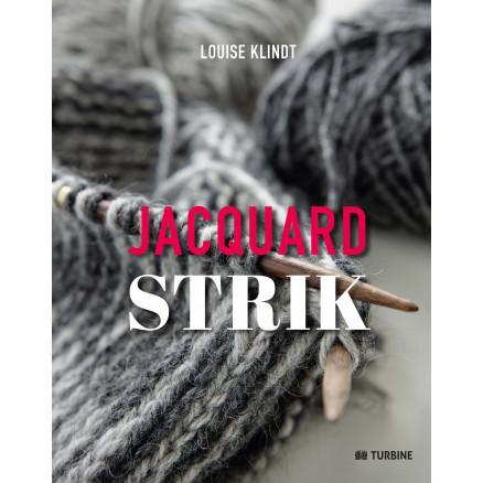 Image of   Jacquardstrik - bog af Louise Klindt