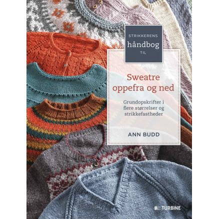 Image of   Strikkerens håndbog til sweatre oppefra og ned - bog af Ann Budd