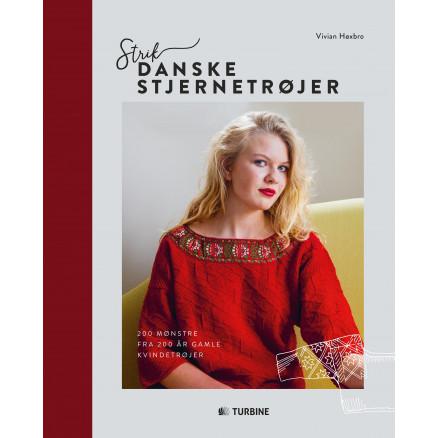 Image of   Strik danske stjernetrøjer - Bog af Vivian Høxbro