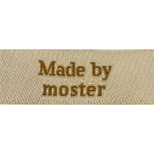 Label Made by Moster