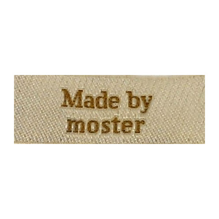 Image of   Label Made by Moster Sandfarve