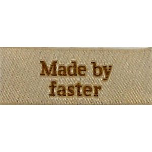 Image of   Label Made by Faster Sandfarve