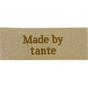 Label Made by Tante