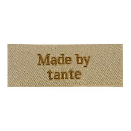Image of   Label Made by Tante Sandfarve