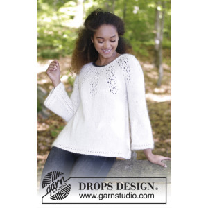 Nineveh Jumper by DROPS Design - Bluse Strikkeopskrift str. S - XXXL