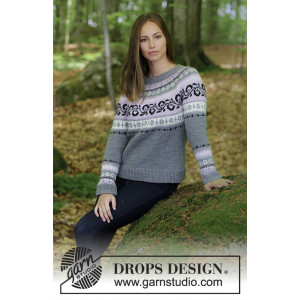 Telemark by DROPS Design - Bluse Strikkekit str. S - XXXL